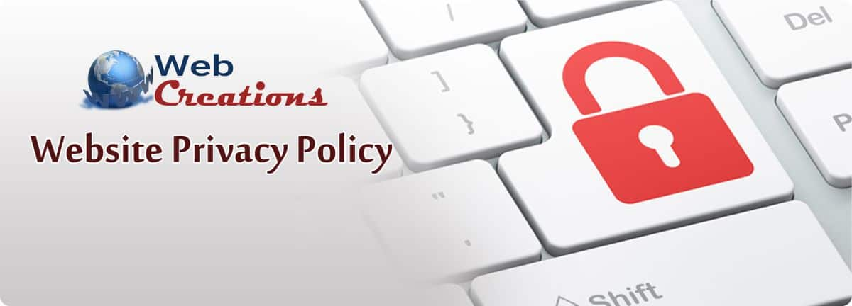 WebCreations Privacy Policy